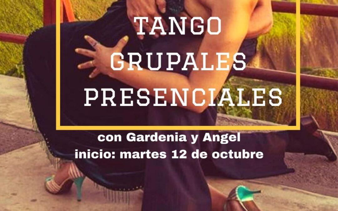 Clase de Tango grupal